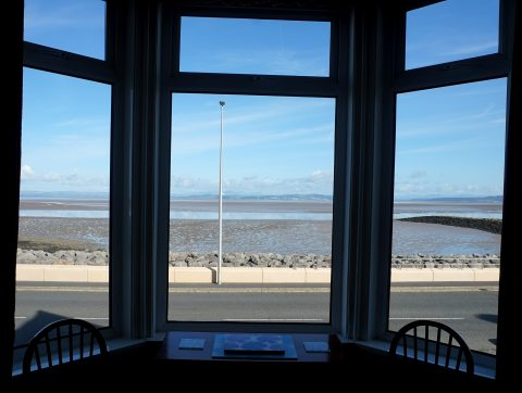 Sandown Holiday Flats- View from bay window