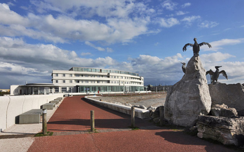 Stone Jetty and Midland Hotel
